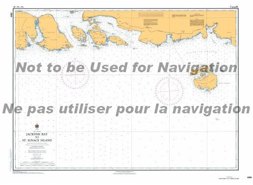 Rossport Islands navigation chart